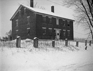 Shaker house circa 1950