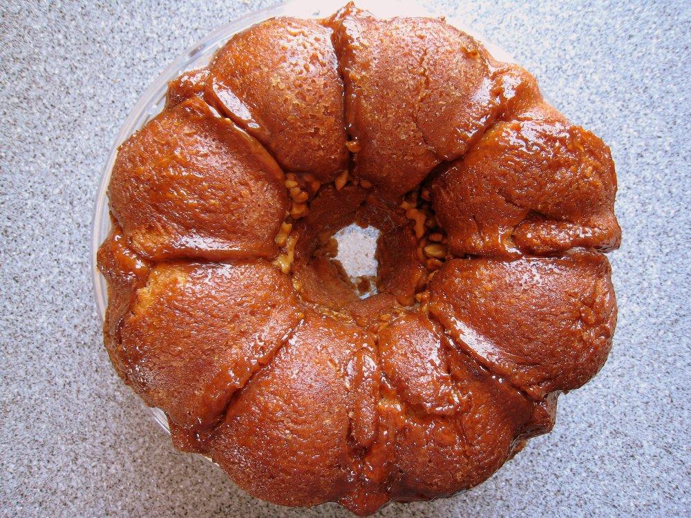 coconut apricot monkey cake