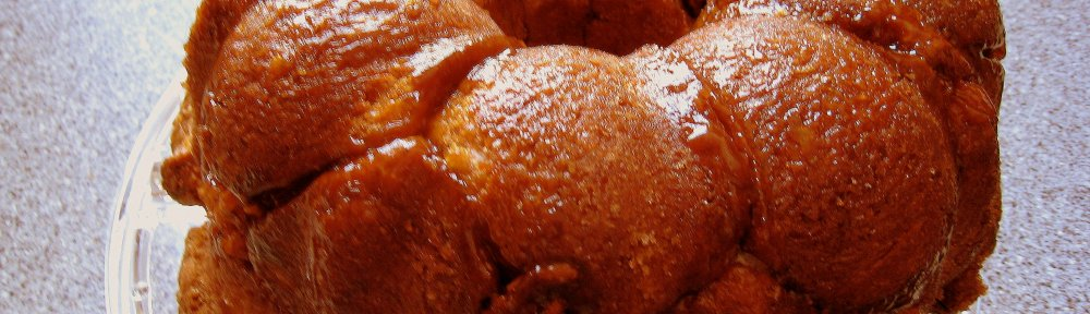 Coconut Apricot Monkey Bread