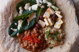 Fillings for Druze pita