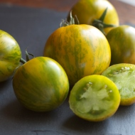 Green Zebra Tomatoes