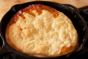 Maple Tarte Tatin - baked but not flipped