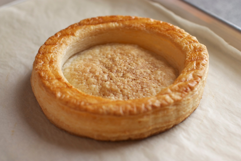 vol au vent puff pastry shell