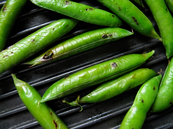 grilling peas