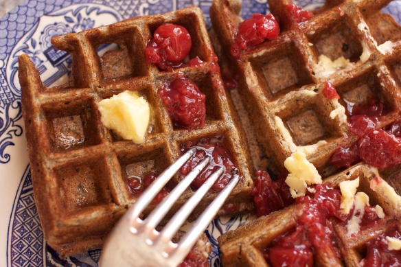 Buttermilk Buckwheat Waffles